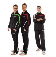 Gewo Pit Table Tennis Tracksuit Black/Lime