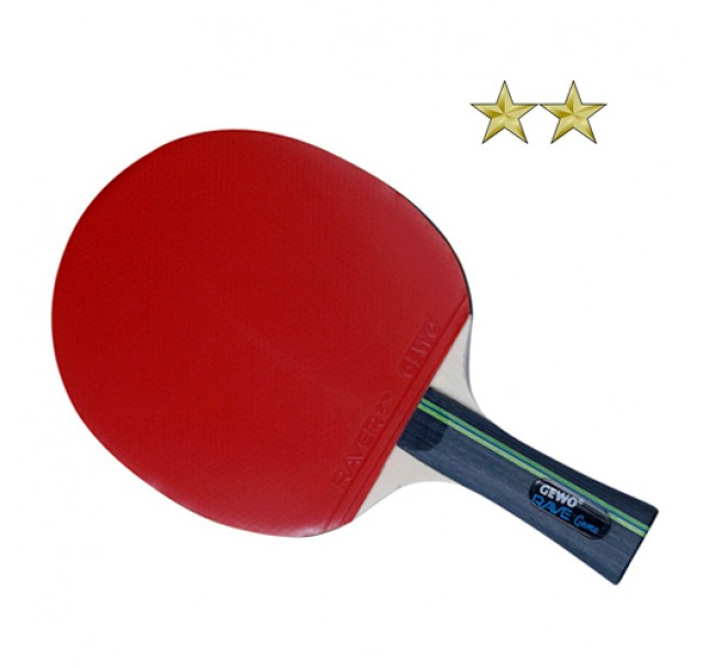 Gewo Rave Game Table Tennis Bat NEW