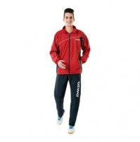 Gewo Storm Table Tennis Tracksuit Red/Navy