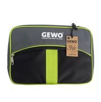 Gewo Style M Table Tennis Bat  Wallet Case Black/Lime Green