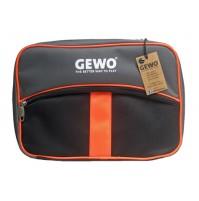 Gewo Style M Table Tennis Bat  Wallet Case Black/Neon Orange