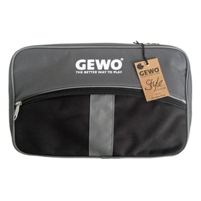 Gewo Style M Table Tennis Bat  Wallet Case Black/Silver