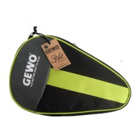 Gewo Style Round Table Tennis Bat Case Black/Lime Green