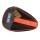 Gewo Style Round Table Tennis Bat Case Black/Neon Orange