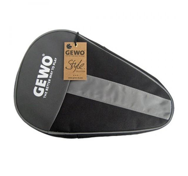 Gewo Style Round Table Tennis Bat Case Black/Silver NOW ONLY £5.50 !