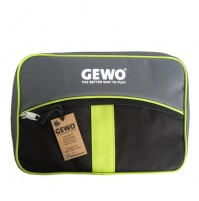 Gewo Style XL Table Tennis Bat Wallet Case Black/Lime Green