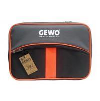 Gewo Style XL Table Tennis Bat Wallet Case Black/Neon Orange
