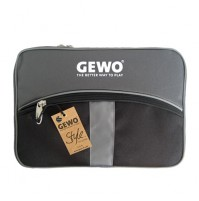 Gewo Style XL Table Tennis Bat Wallet Case Black/Silver