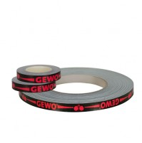 Gewo Table Tennis Bat Edge Tape Black/Red NOW ONLY £1.45 !