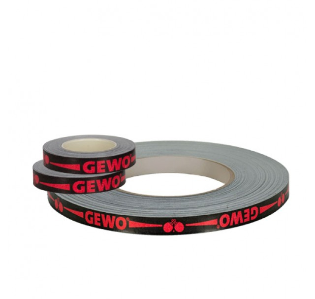 Gewo Table Tennis Bat Edge Tape Black/Red