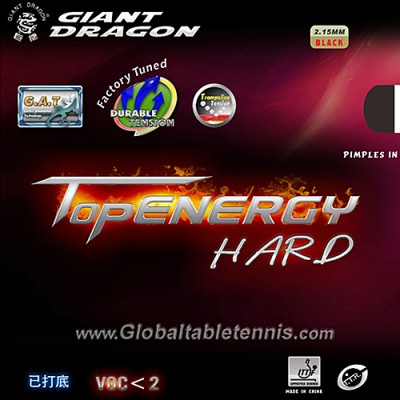 Giant Dragon Topenergy Table Tennis Rubber Hard