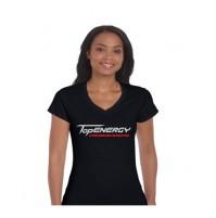Giant Dragon Topenergy Ladies V Neck Table Tennis Shirt
