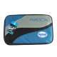 Global Ninja II Table Tennis Bat Wallet Case Jet Black