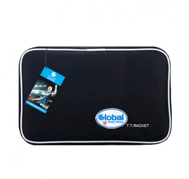 Global Ninja Table Tennis Bat Wallet Case Jet Black