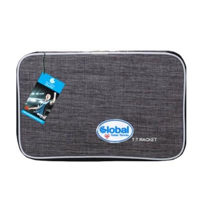 Global Ninja Table Tennis Bat Wallet Case Modern Grey