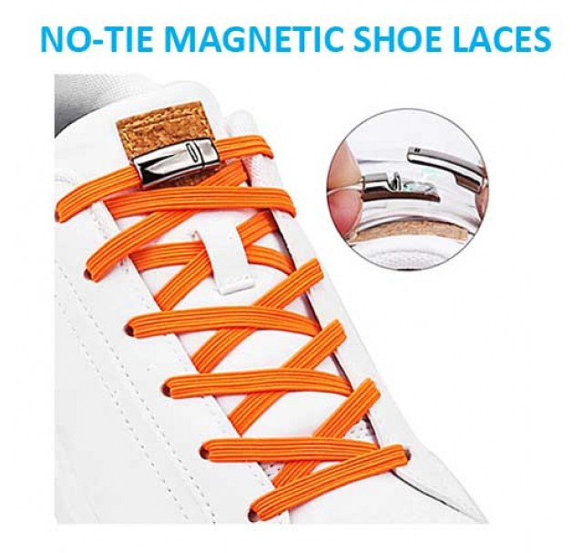Global No-Tie Magnetic Shoe Laces