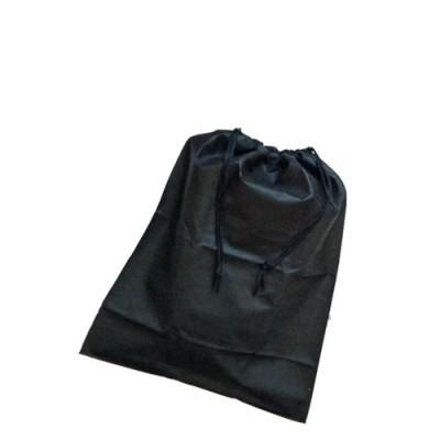 Global Drawstring Shoe Bag Black