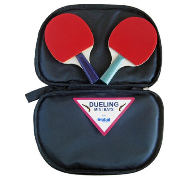 Global Table Tennis Dueling Mini Bat Set With Wallet