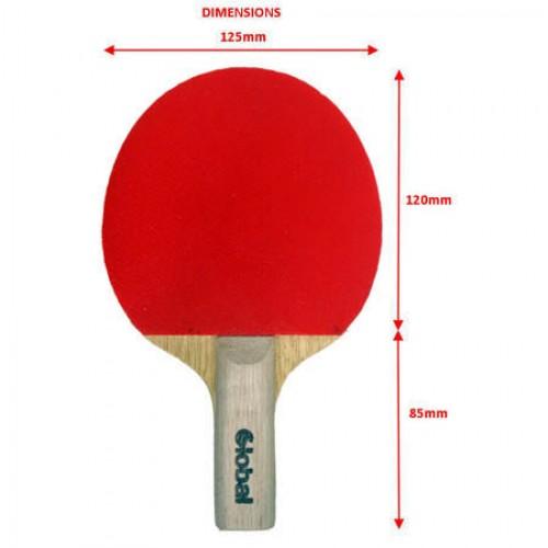 Global Tot Midi Table Tennis Bat Amp Case Young Junior