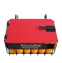 Kwickfire Table Tennis Multi-ball Caddy With Lid And Carry Handle