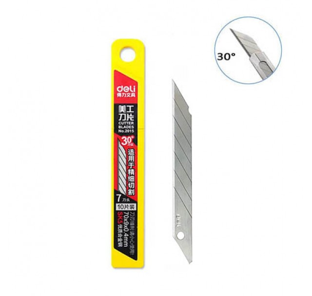 Replacement  Blades For Rubber Cutting Knife X10 30º