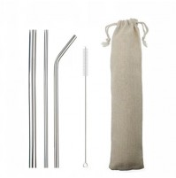 Stainless Steel Drinking Straws Eco-friendly