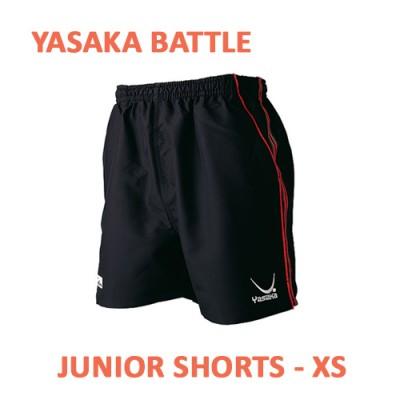 Yasaka Battle Table Tennis Shorts JUNIOR Black/Red NOW £7.50 !