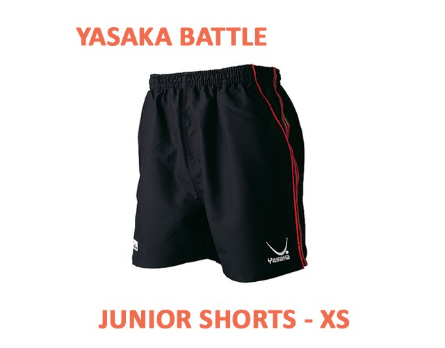 Yasaka Battle Table Tennis Shorts JUNIOR Black/Red NOW ONLY £7.50 !
