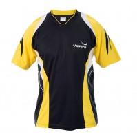 Yasaka Leo Table Tennis Shirt Black/Yellow