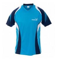 Yasaka Leo Table Tennis Shirt Ocean/Navy