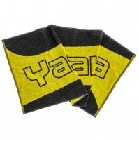Yasaka River Table Tennis Towel Black/Yellow