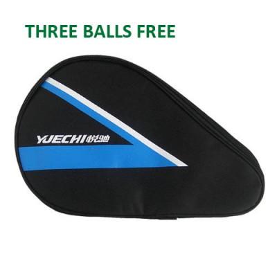 Yuechi 2020 Table Tennis Bat Case Blue