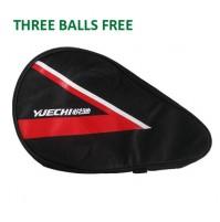 Yuechi 2020 Table Tennis Bat Case Red